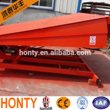 Stationary hydraulic dock ramp/loading dock leveler